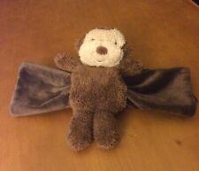 Jellycat Monkey Security Blanket Roll Up Plush