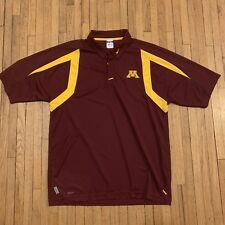 Ncaa University of Minnesota Gophers Nike Fit Shirt Polo Golf Men Xl Football