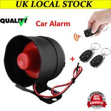 Universal Car Vehicle Burglar Protection System Keyless Antitheft Alarm Security