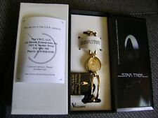 Star Trek Gold Valdawn Collectors Watch IN BOX SOLD OUT