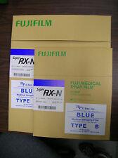 Fuji RX-N 14x17 AND 10x12 X-ray Film (Blue Sensitive) - 100 sht box each