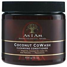 As I Am 12002 Coconut CoWash Cleansing Conditioner 16 oz/454 g