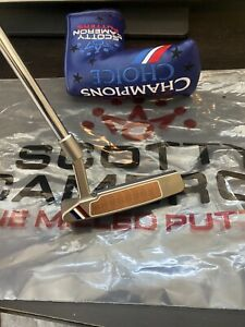 """Scotty Cameron Champions Choice Newport 2 Button Back Putter 34"""" Left Handed"""