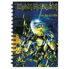Iron Maiden carnet Live After Death Pavé D'écriture Bague Livre a5 Bloc-notes