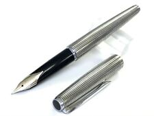 Sailor 18KWG sterling silver  <F>  maybe  very rare from Japan