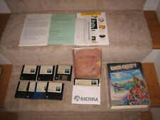 "Sierra King's Quest V Absence IBM PC Game 3.5"" & 5.25"" Floppy Disks - PLEAS READ"