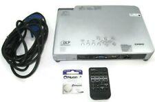 Casio XJ-S38 Slim DLP Video Compact Data Projector 2300 Lumens 720 1080 w/Remote