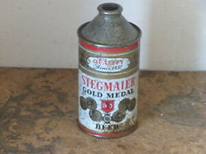 STEGMAIER.  GOLD. MEDAL.  SOLID.   DIFFICULT. CONE TOP
