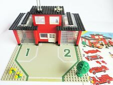 LEGO City 6382 Feuerwehrwache Feuerwehrstation, mit BA, Fire Station, Rarität!