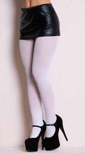 One Size Fits Most Womens Opaque Tights