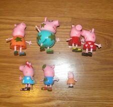 7 PEPPA PIG & Friends Figures Lot