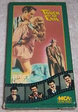 Touch of Evil Vhs Video Gene Shalit's Critic's Choice Charlton Heston Orson Well