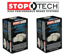 Stoptech Street Front + Rear Brake Pads 2006-2013 Chevy Corvette Z06 Grand Sport