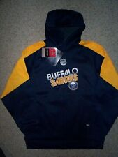 ($48) Buffalo Sabres STITCHED/SEWN Jersey Sweatshirt YOUTH KIDS BOYS (L-LARGE)