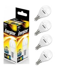 4 x Energizer E14 SES Golf LED Light Bulb 250lm Opal 3.4W=25W Warm White 2700k