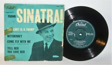 """Frank Sinatra - The Lady Is A Tramp - 1958 Vinyl 7"""" EP - Capitol EAP 1-1013"""