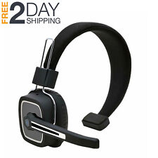 Noise Cancelling Bluetooth Headset For Trucker With Mic Handsfree Headphone
