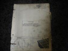 John Deere JD OTTUMWA WORKS BALER 14T arts book/manual pc -426-