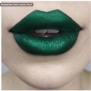 Kat Von D Studded Kiss Creme Lipstick - Plan 9 - Satin Matte Deep Seafoam Green