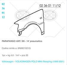 PARAFANGO ANT SX VW POLO 1999-2001 n. Originale 6N0821021G RHIBO