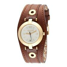 Genuine Leather Band Gloss Women's Dress/Formal Wristwatches