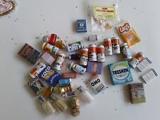 CUTE=Vintage Shackman Miniature Dollhouse Canned Food 24 Cans/ Case-LOT