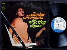 MCCOY TYNER Tender Moments LP BLUE NOTE 84275 US 1968 Lee Morgan Bennie Maupin