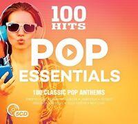 Various Artists - 100 Hits: Pop Essentials / Various [New CD] UK - Import