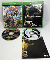 Xbox One Mortal Kombat X & Sunset Overdrive  VGC Pre-owned Tested