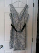 BCBGMAXAZRIA Formal Brocade Sheath Dress Size 10. USA Free Shipping