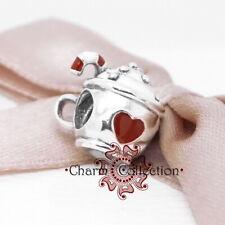 Pandora, Christmas, Cocoa & Candy Cane Mug, Bracelet S925 Charm, NEW, 797523ENMX