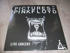 PICTURES OF PINK FLOYD RARE 2 LP LIVE CONCERT EXC. ETAT