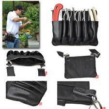 Japanese Bonsai Tools Roll Bag Leather Bonsai Tool Set Kit Case Storage Bag Belt