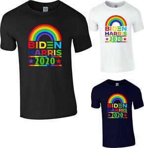 Joe Biden 2020 Kamala Harris Rainbow Gay Pride LGBT T-Shirt, USA President Top