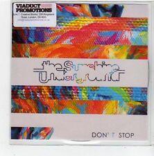 (FL803) The Sunshine Underground, Don't Stop - 2014 DJ CD