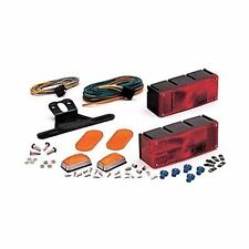 "Optronics TL-16RK Waterproof Trailer Light Kit Low Profile Over 80"" Marine MD"