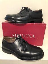 MERONA Black cap toe oxford tie shoe 11D NEW IN BOX