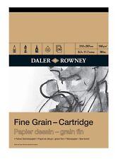 DALER ROWNEY FINE GRAIN CARTRIDGE PAD - A3 (160gsm)