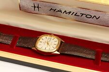 vintage HAMILTON AUTOMATIC Mens Wristwatch w/ ORIGINAL BAND & BOX