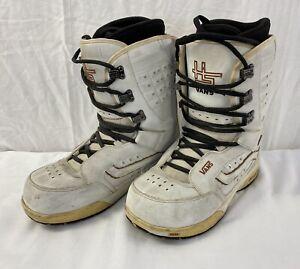 Vans Hi Standard Snowboarding Winter Boots White - Size UK 11