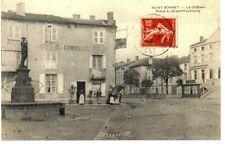 (S-45408) FRANCE - 42 - ST BONNET LE CHATEAU CPA FONTAINE - HOTEL DU COMMERCE PE