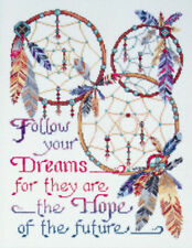 Dreamcatchers Counted Cross Stitch Kit 14 Count White Aida