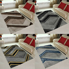 New Yellow Black Small Extra Large Soft Floor Carpet Area Rugs Rug Mats Cheap UK