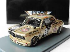 BMW 2002 #69 OBERMOSER HOCKENHEIM GS TUNING WARSTEINER DRM 1975 NEO 45448 1/43