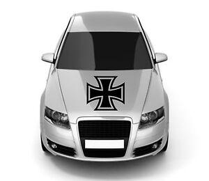 Eisernes Kreuz Iron Cross 60cm Oldschool Auto Aufkleber Tuning Sticker Rat Look