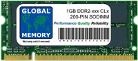 1gb DDR2 400/533/667/800mhz 200 pines SODIMM Memoria RAM para portátiles /