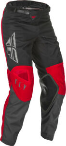 Fly Racing Kids Youth Kinetic K121 Pants | Red/Grey/Black | Choose Size
