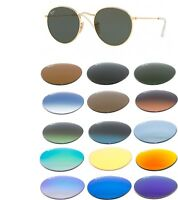 Ray Ban lenses replacement 3447 Round Metal ORIGINAL filters