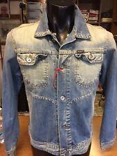 Giubbotto Jeans Uomo X-Cape Invecchiato Taglia XL