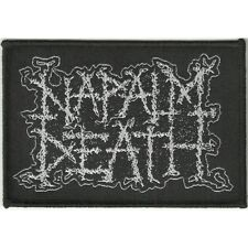 Napalm Death 'Logo' Patch - NEW